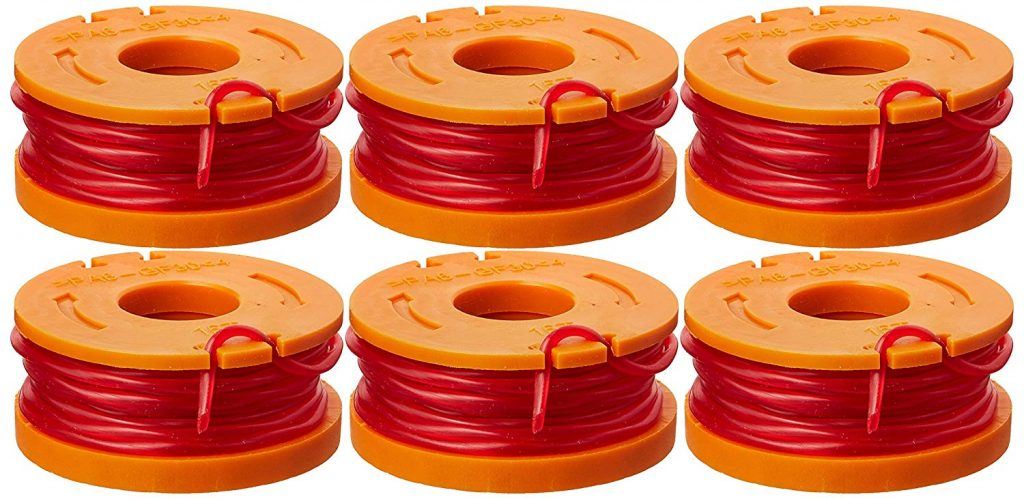 WORX WA0010 6-Pack Replacement Trimmer Line for Select Electric String Trimmers by WORX