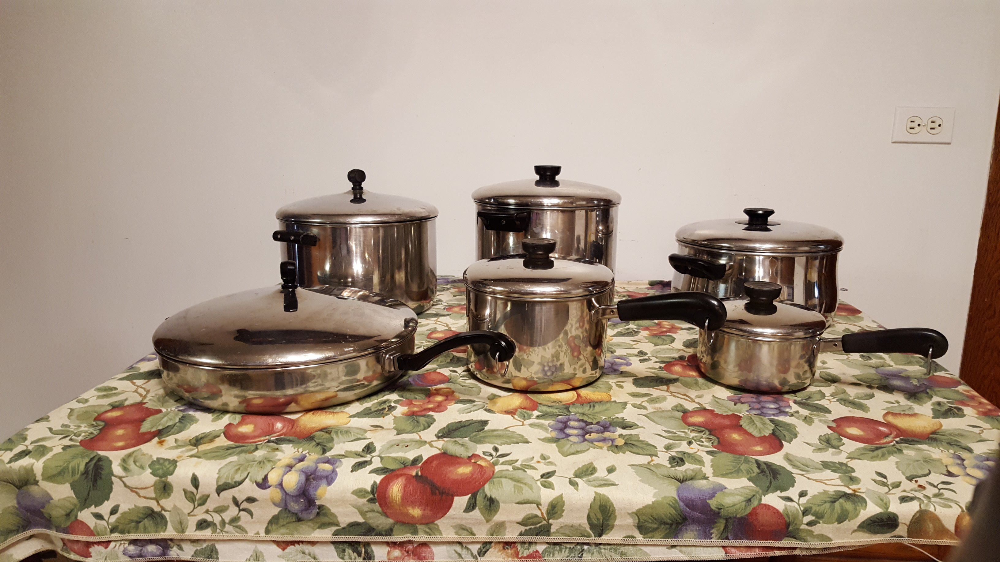 Nice Pots and Pans…..Who Knew?