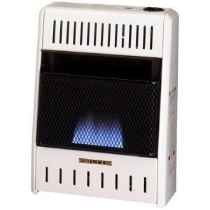 Procom ML100HBA Vent Free Liquid Propane Gas Blue Flame Wall Heater - 10,000 BTU, Manual Control