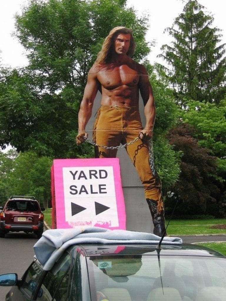Best Yard Sale Signs Ever